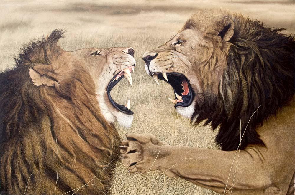 битва львов в контексте