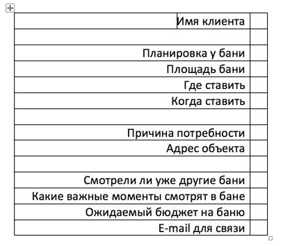 чек лист