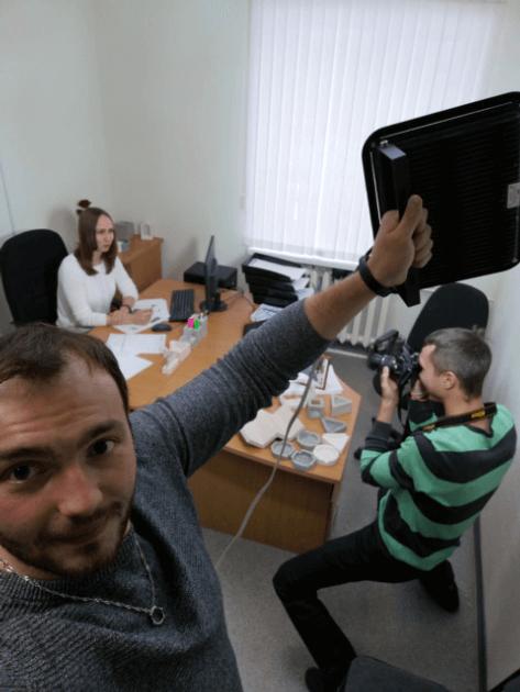 фотосессия в офисе