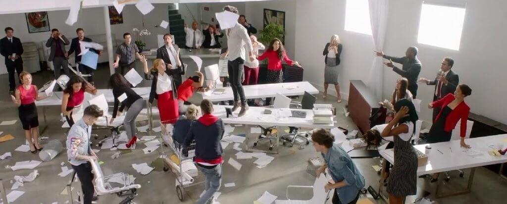 полный хаос в бизнесе